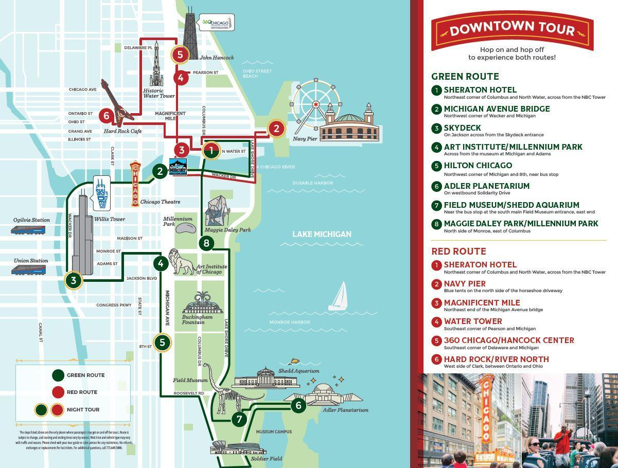 Chicago Maps Transport And